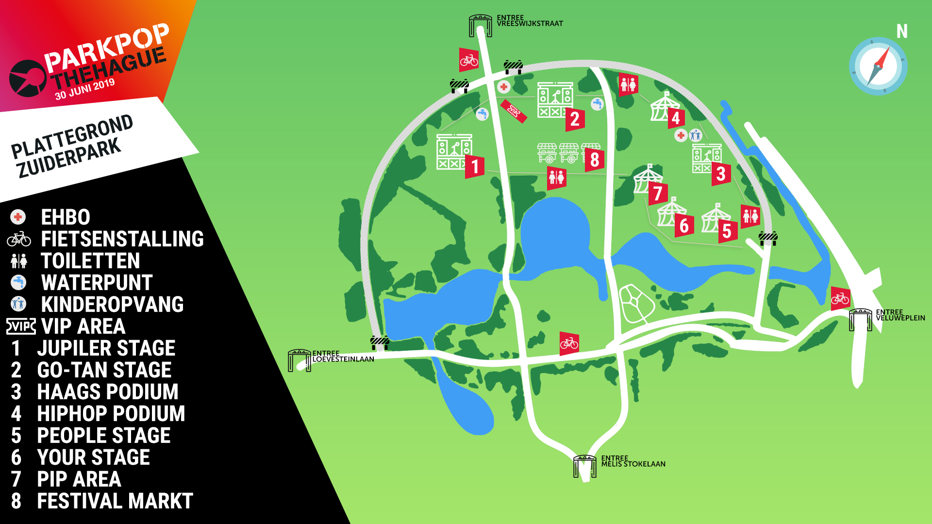 Parkpop | Festival map